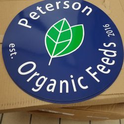 Peterson Organic Feeds work